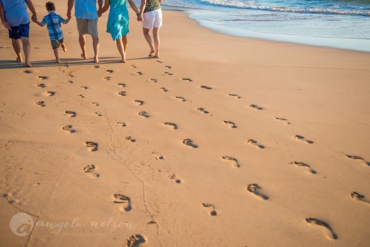 Maui Beaches People Wailea Maui Beach Family