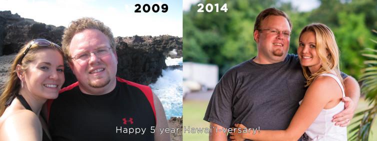 Happy 5 year Hawai'i-versary to Us: A Maui Love Letter
