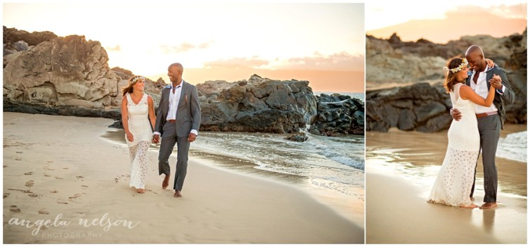 romantic wedding photos sunset maui_0007