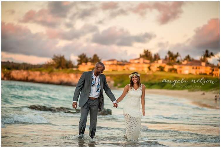 romantic wedding photos sunset maui_0011