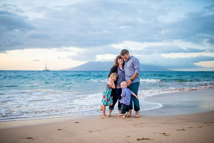 The S Family: Beautiful Family Portraits in Wailea, Maui
