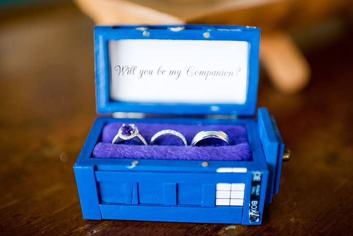 tardis wedding ring box
