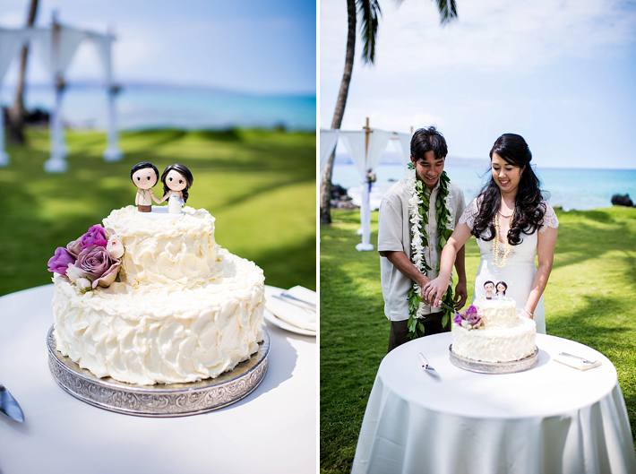 custom cake toppers wedding maui