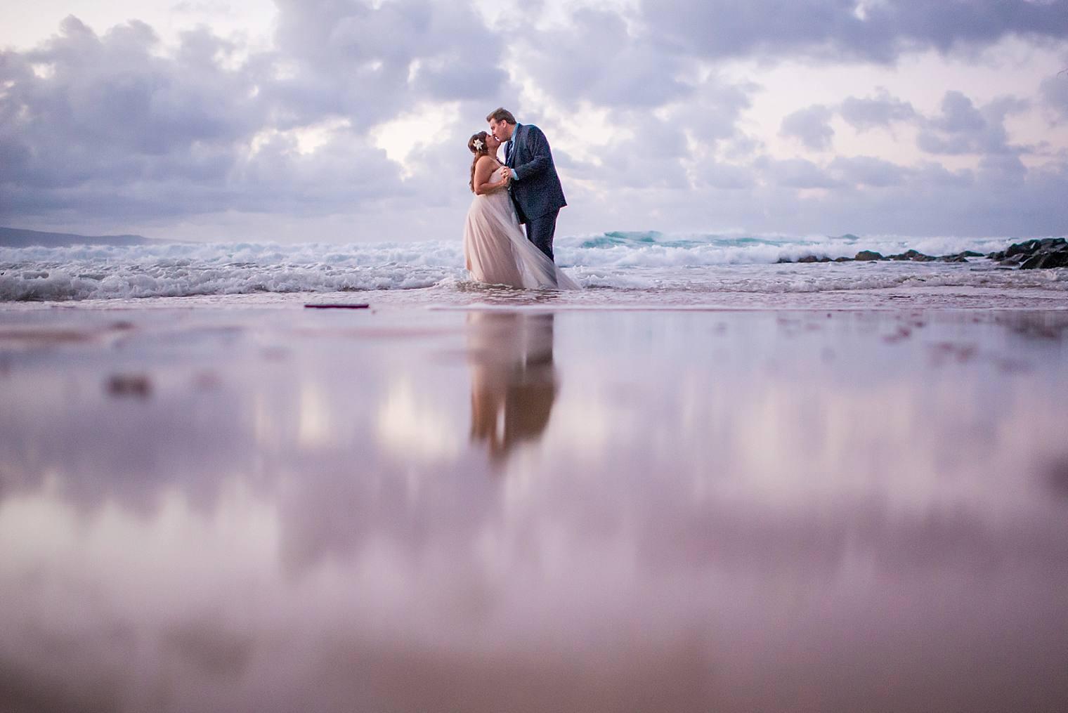 Erica + Phil   Romantic Cliffside Maui Elopement