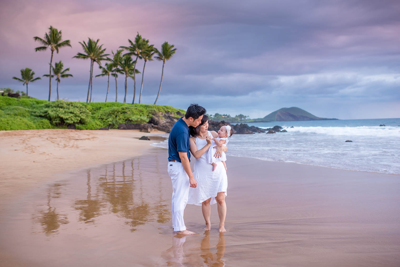 maui family photography in wailea