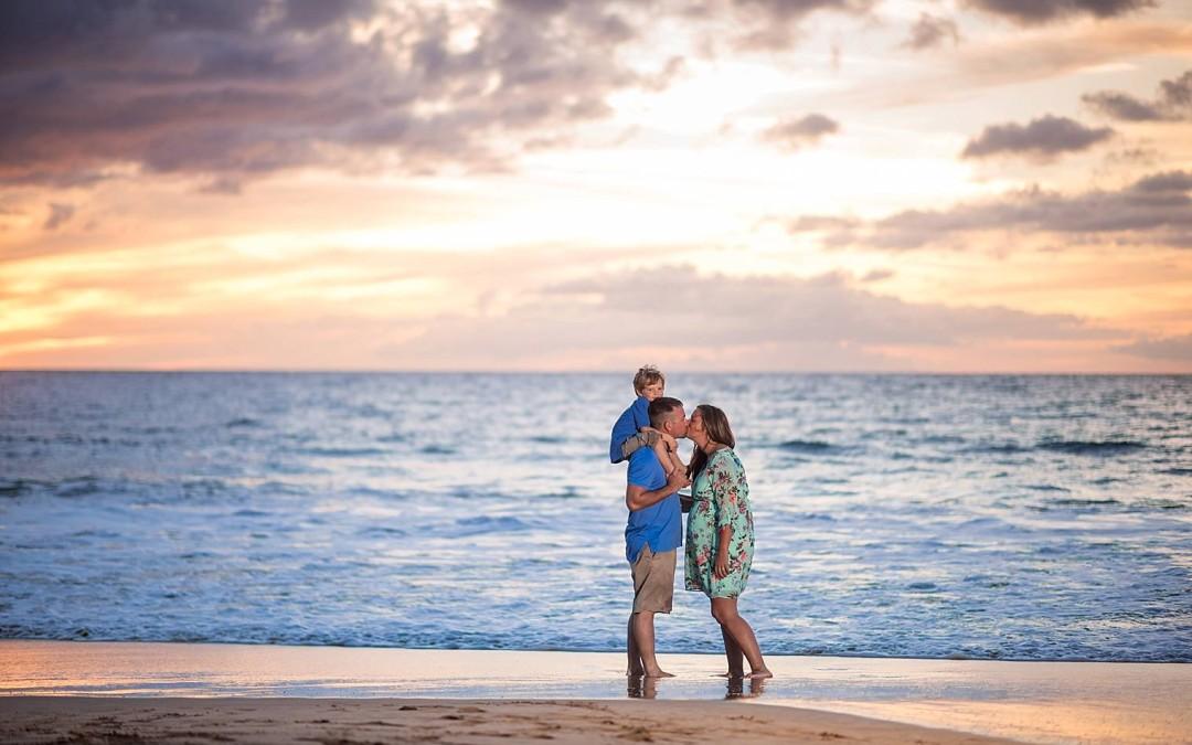 The C Family | Maternity Photographer Maui, Hawaii