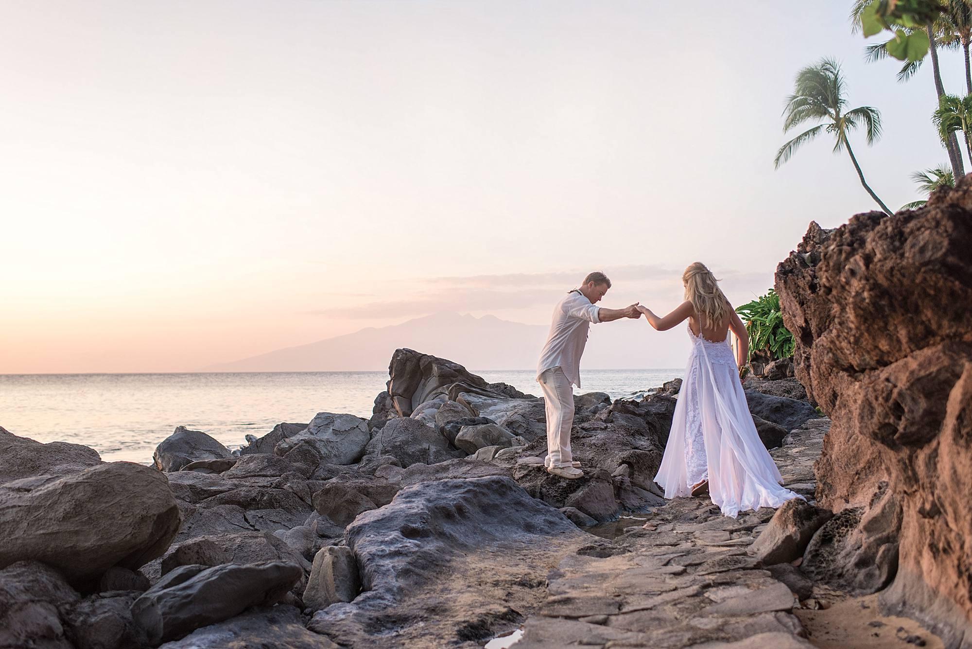 Destination Wedding at Sea House Napili_0040