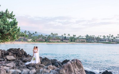 Maui Destination Wedding at the Sea House Restaurant | Hawaii Wedding Photographer