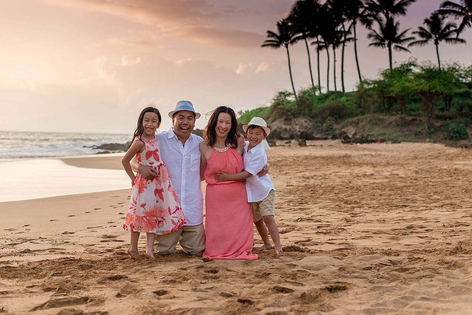 Stylish Family Photography Session in Wailea_0011