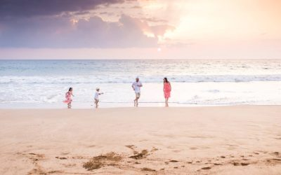 Stylish Family Photo Session in Wailea | Fun Family Photos in Maui, Hawaii