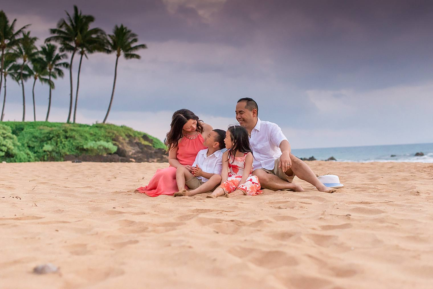 Stylish Family Photography Session in Wailea_0016