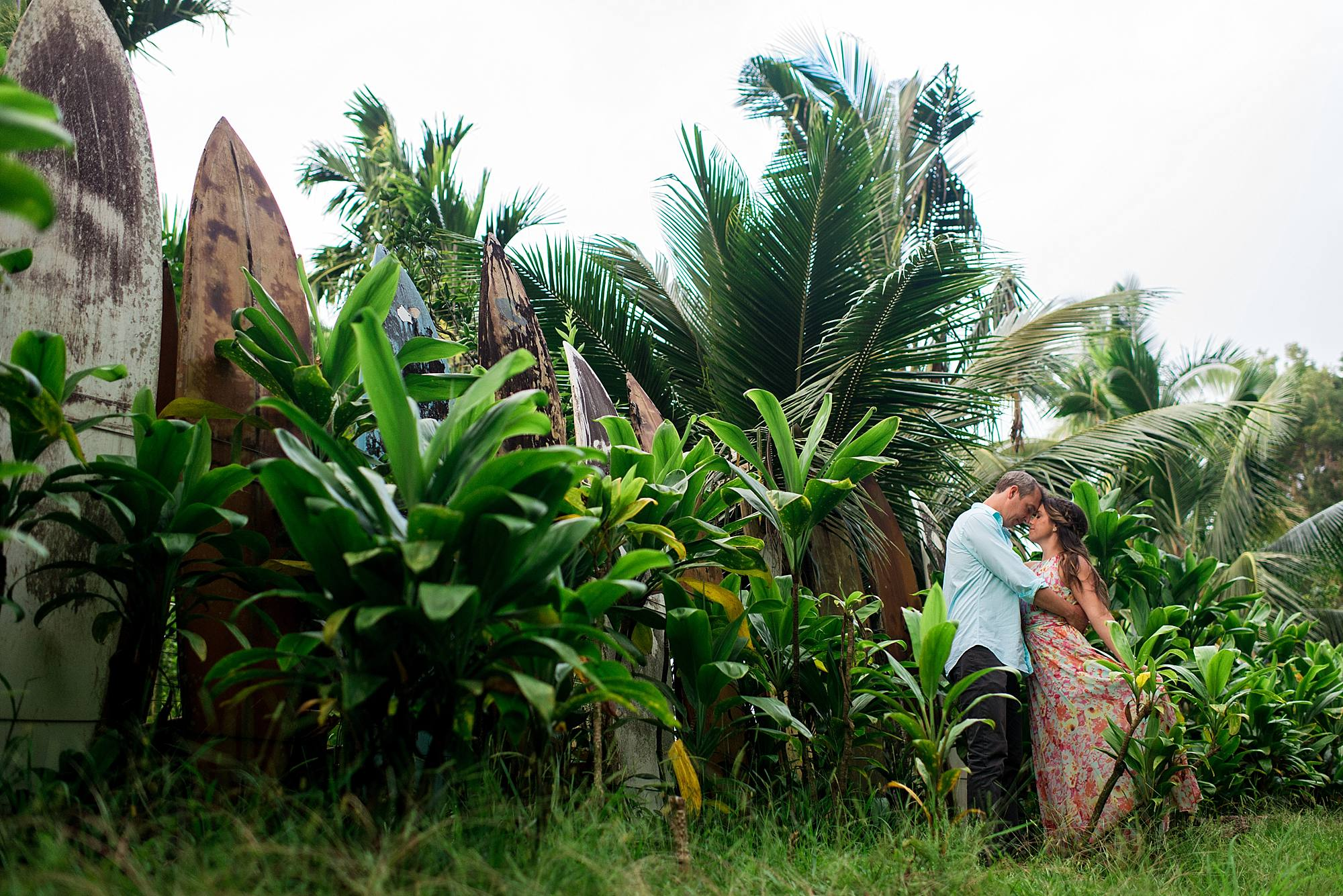 Romantic North Shore Maui Engagement_0015