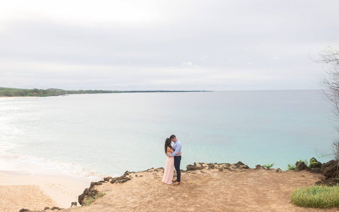 Morning Engagement Photos on Maui | Kim + Mike