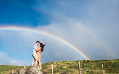 Honeymoon Portraits on North Shore Maui | Lorie + Andrew