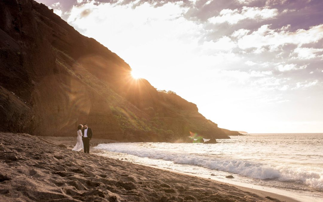South Maui Honeymoon Photo Session | Zoe + Z