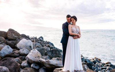 North Shore Maui Elopement | Ariel + Stephane