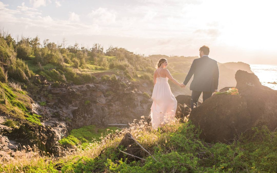 Off the Beaten Path Northwest Maui Elopement | Jenna + Luke