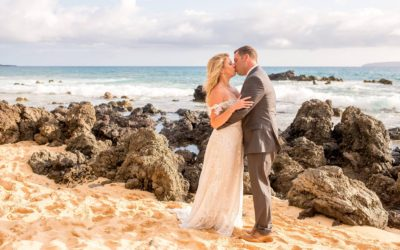 South Maui Wedding Portrait Redo | Dara + Jay