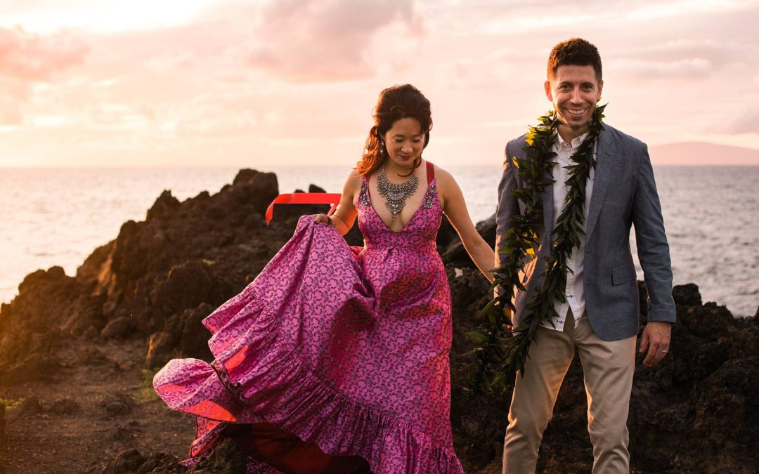 Vibrant Kukahiko Estate Wedding | Victoria + Jesse