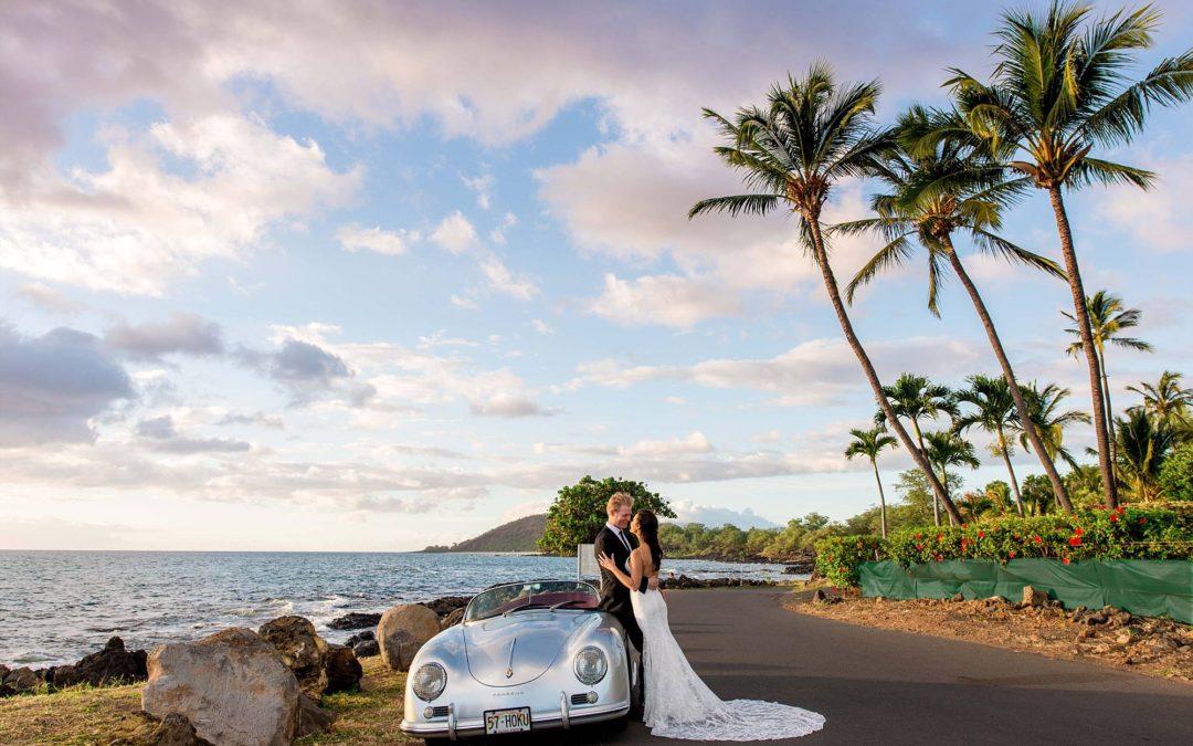 Emotional Maui Beach Elopement   Caitlin + Will