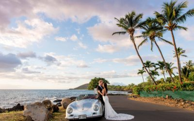 Emotional Maui Beach Elopement | Caitlin + Will