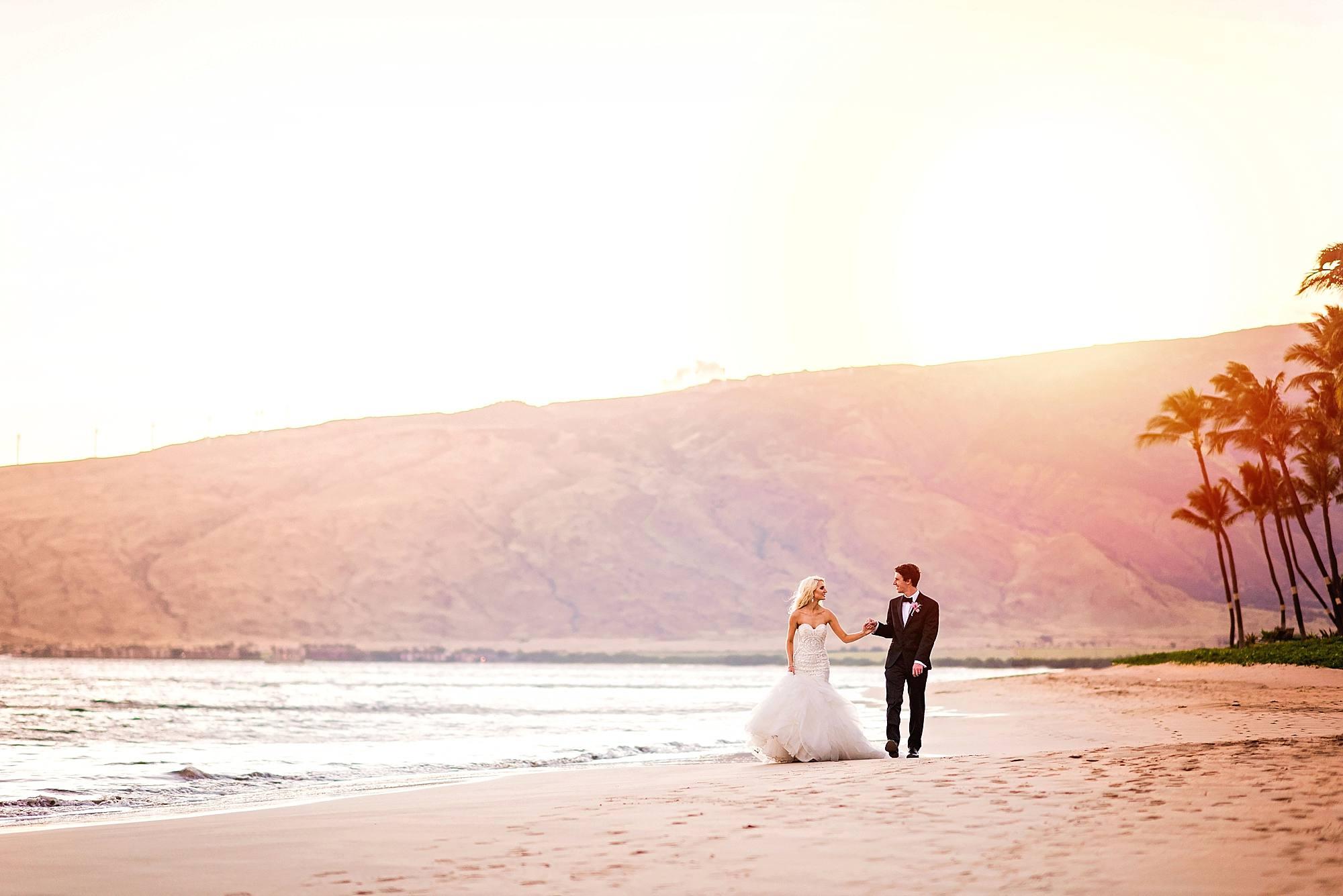 sugar beach events wedding bride and groom