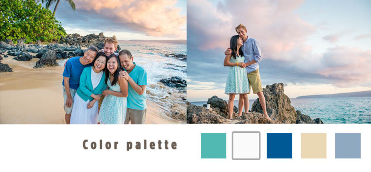 Coordinating Family Outfits | Maui Family Photographer