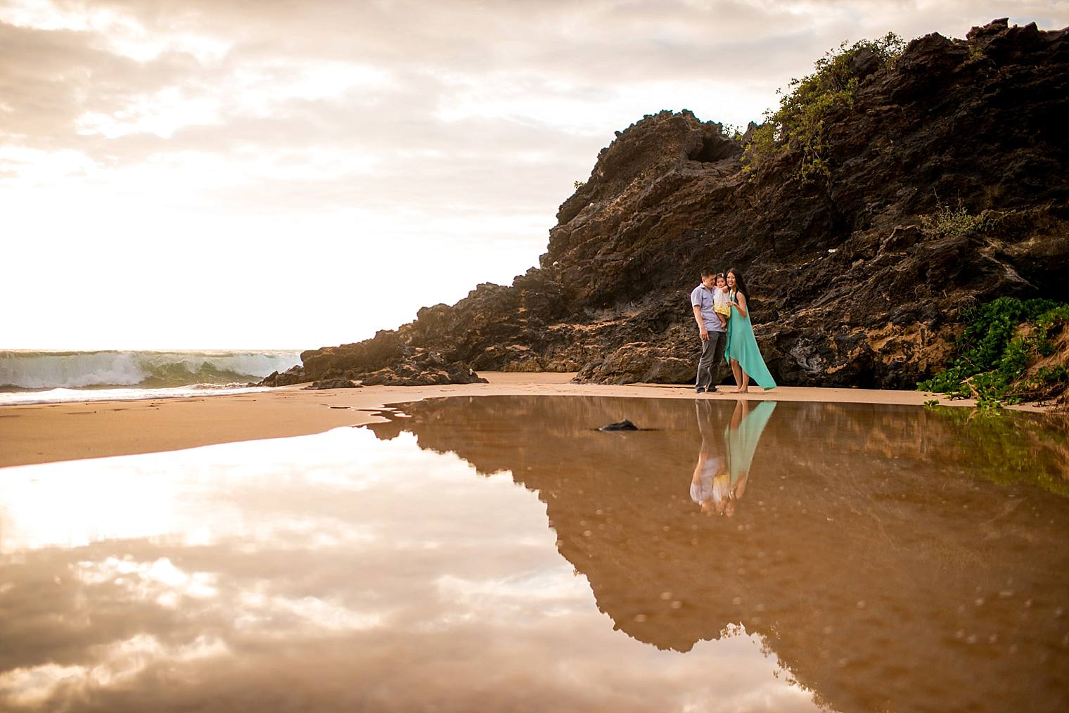maui family portraits in wailea, hawaii