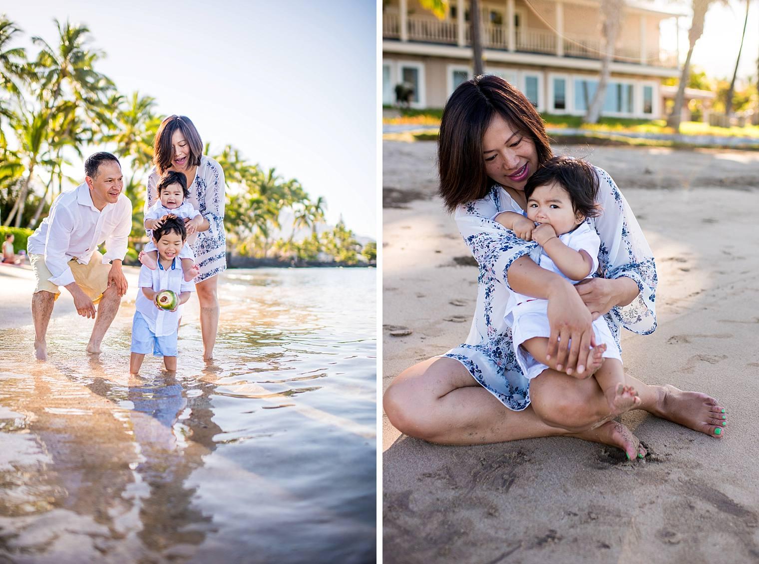 Lahaina Family Photographer - Baby Beach_0009