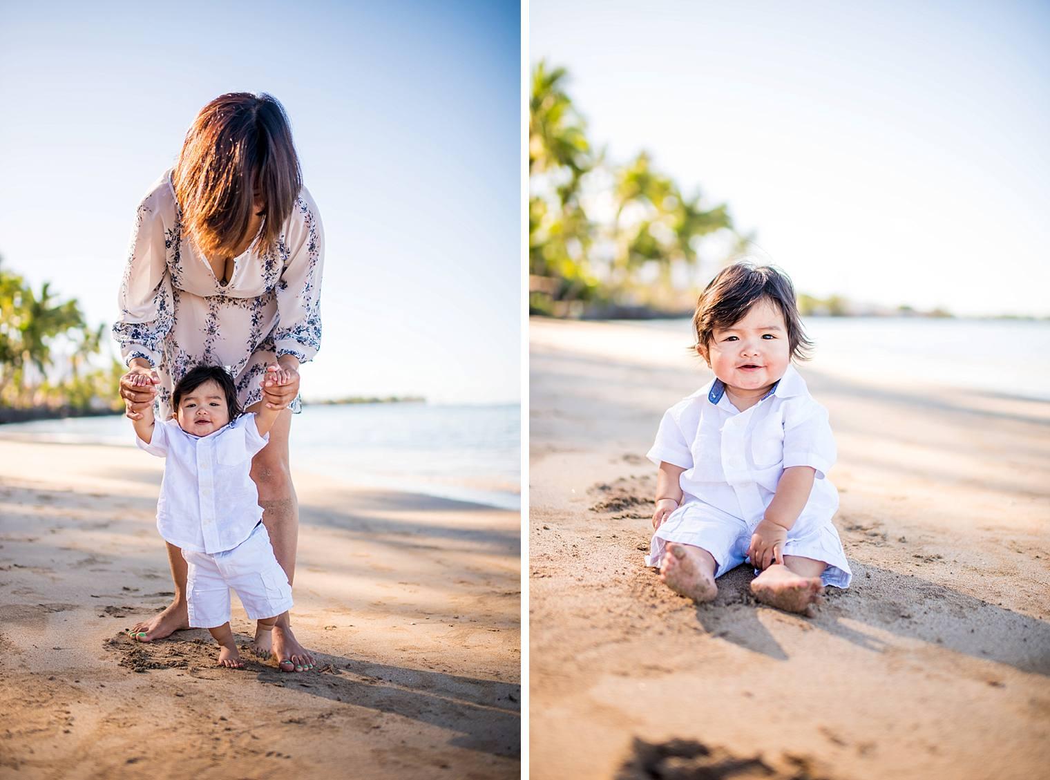 Lahaina Family Photographer - Baby Beach_0012