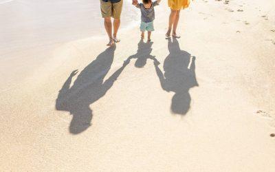 Morning Photos on the Beach in Maui | Kaedon + Fam