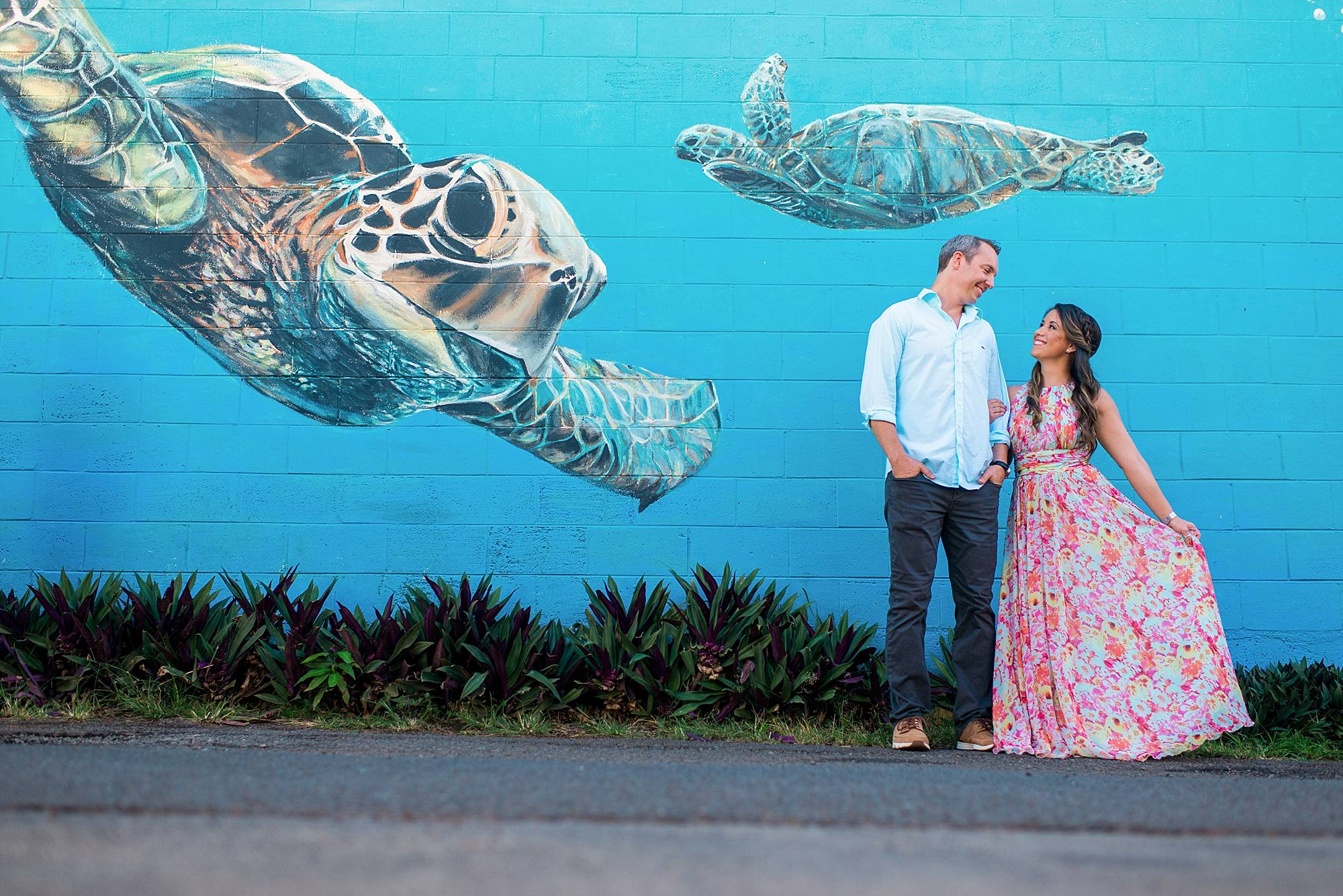Romantic North Shore Maui Engagement_0004