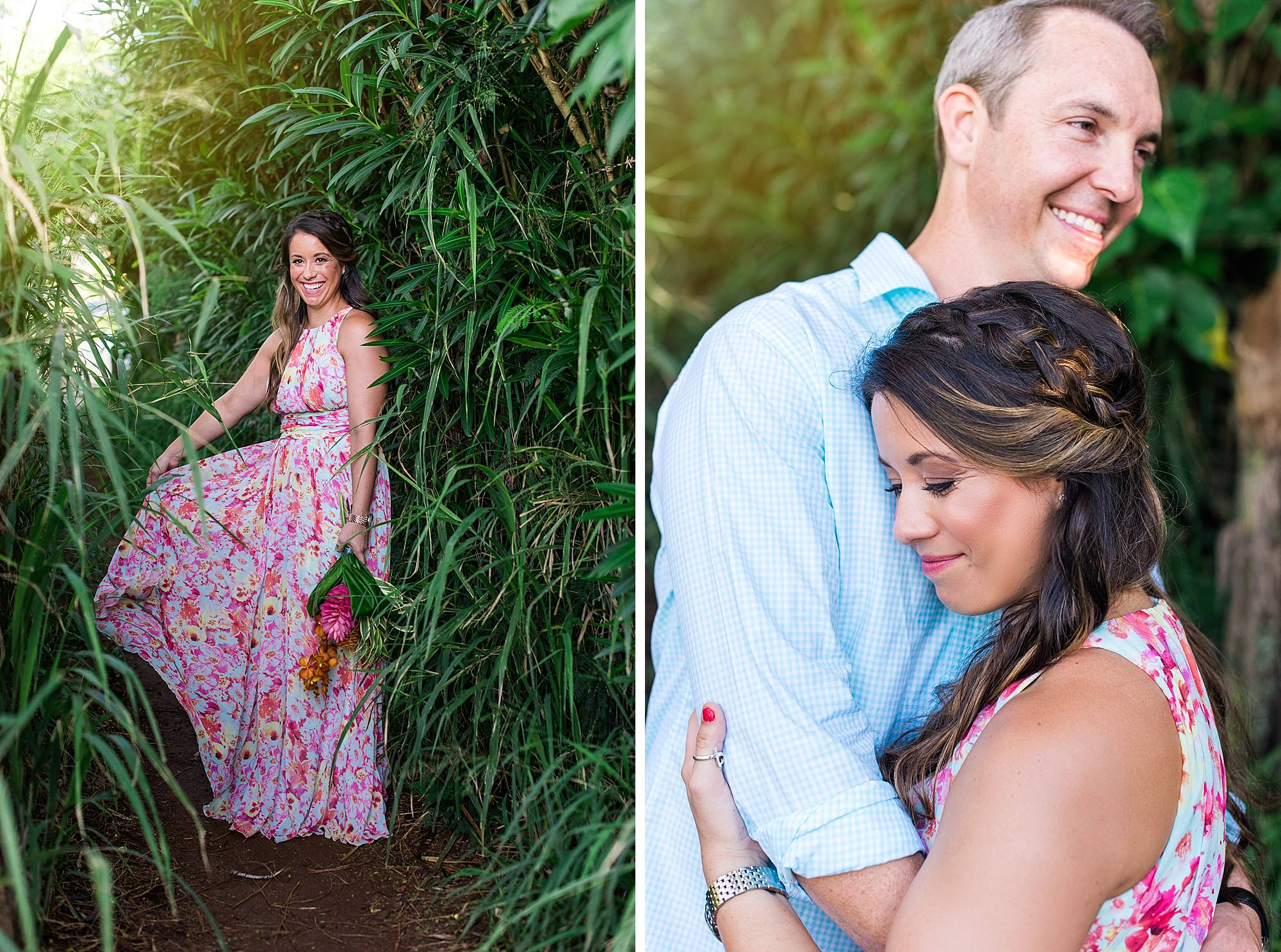 Romantic North Shore Maui Engagement_0006