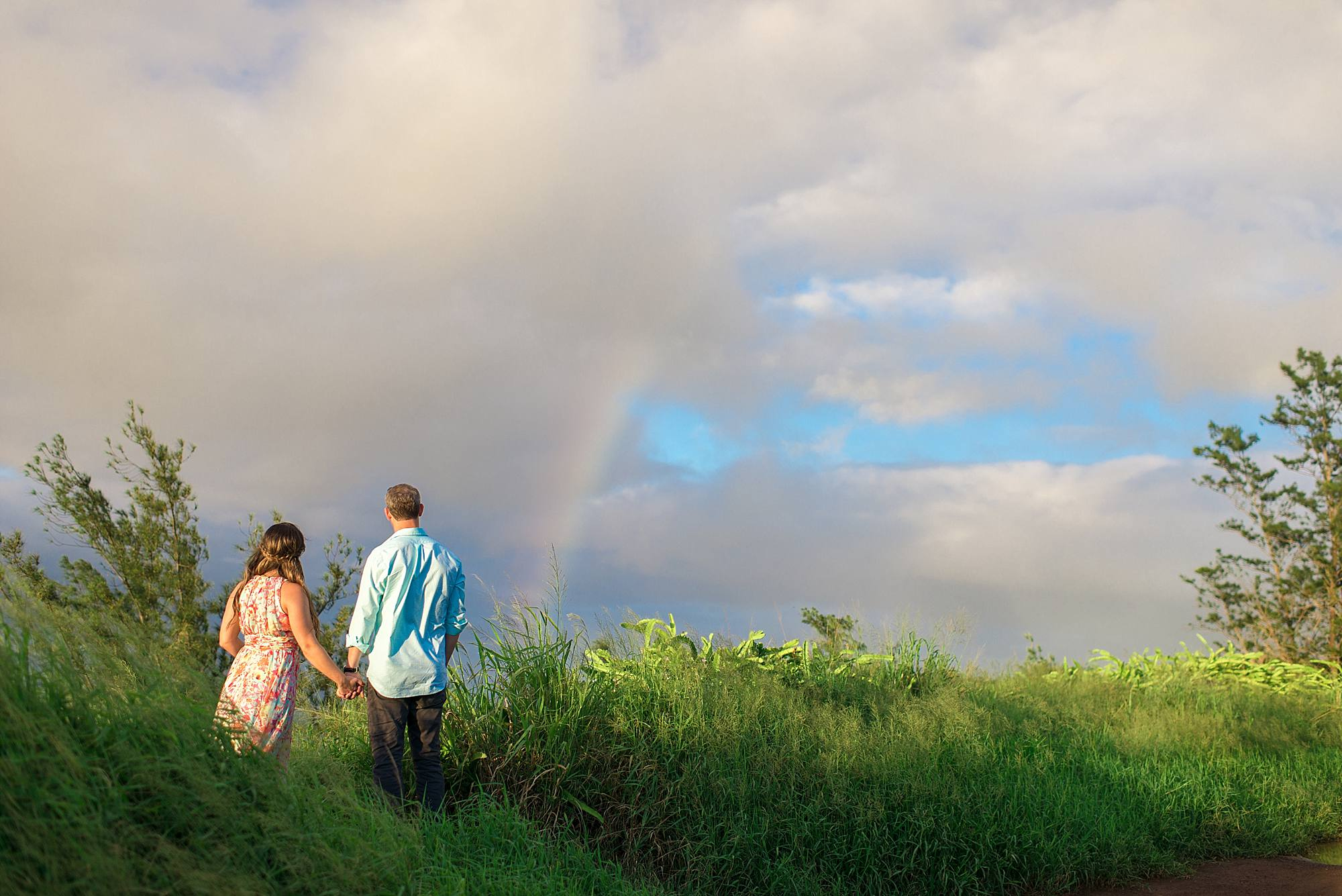 Romantic North Shore Maui Engagement_0016