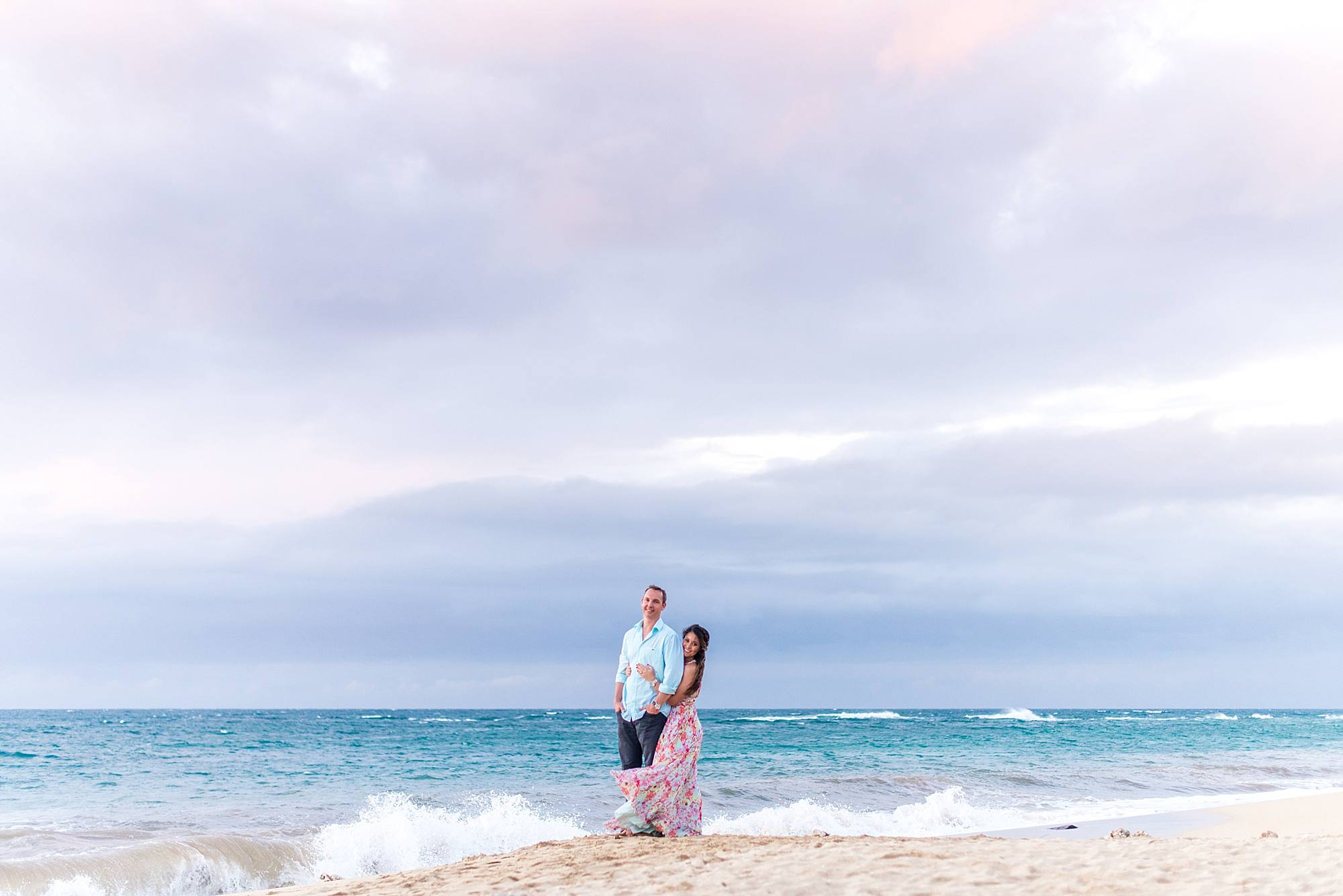 Romantic North Shore Maui Engagement_0020