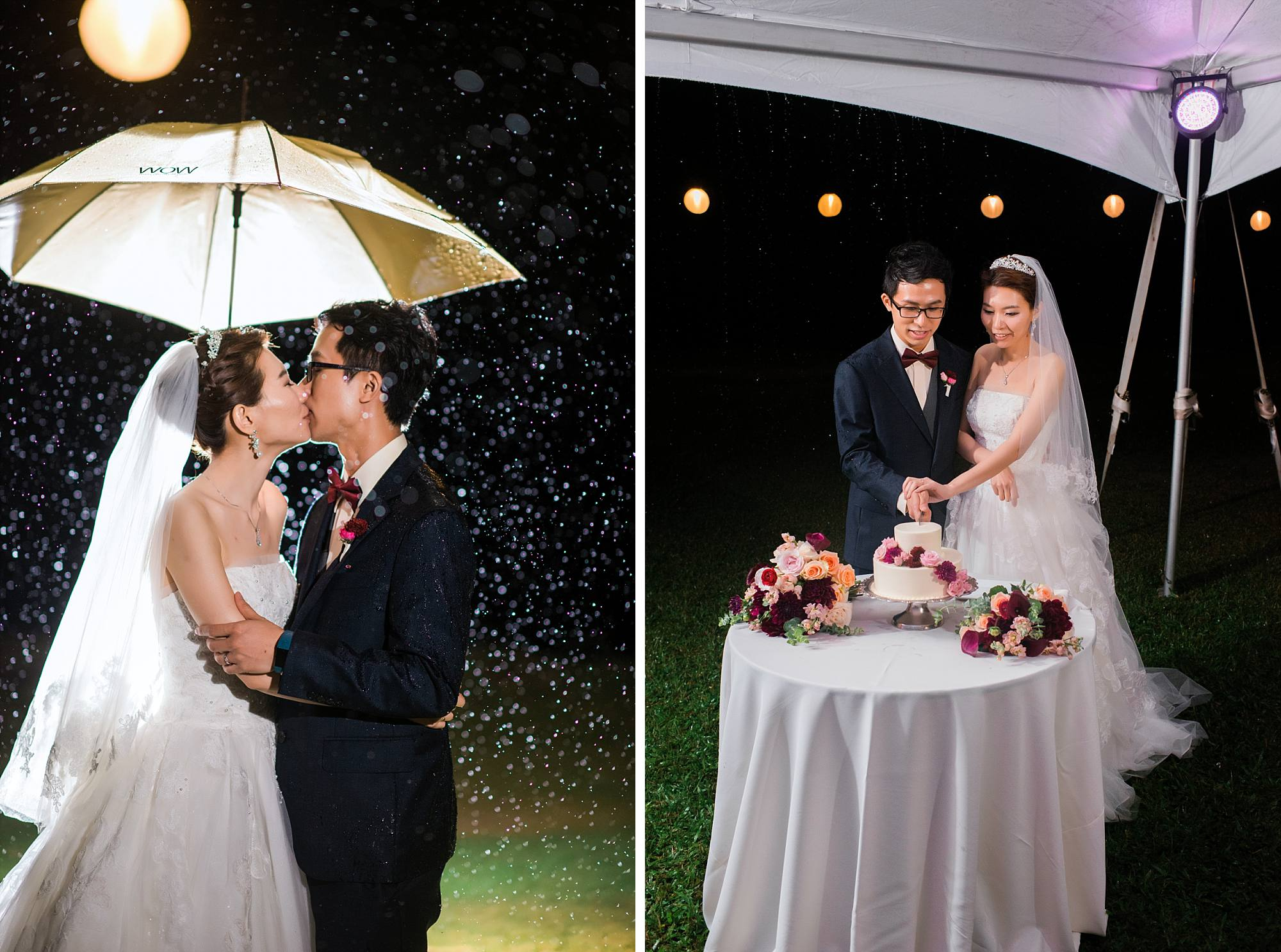Lok And Jina Congratulations On Your Beautiful Rainy White Orchid Beach House Wedding Thank You For Trusting Me To Get The Shots Even When