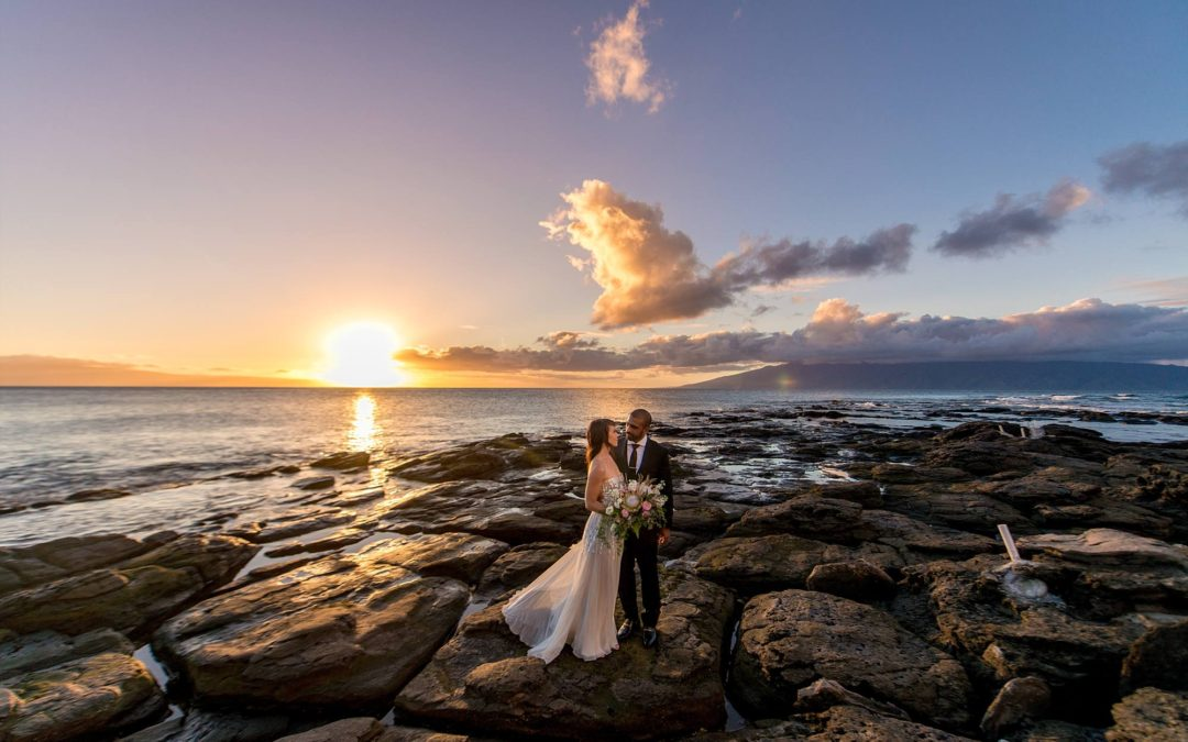 Intimate Maui Wedding at Merriman's | Jessie + Herman