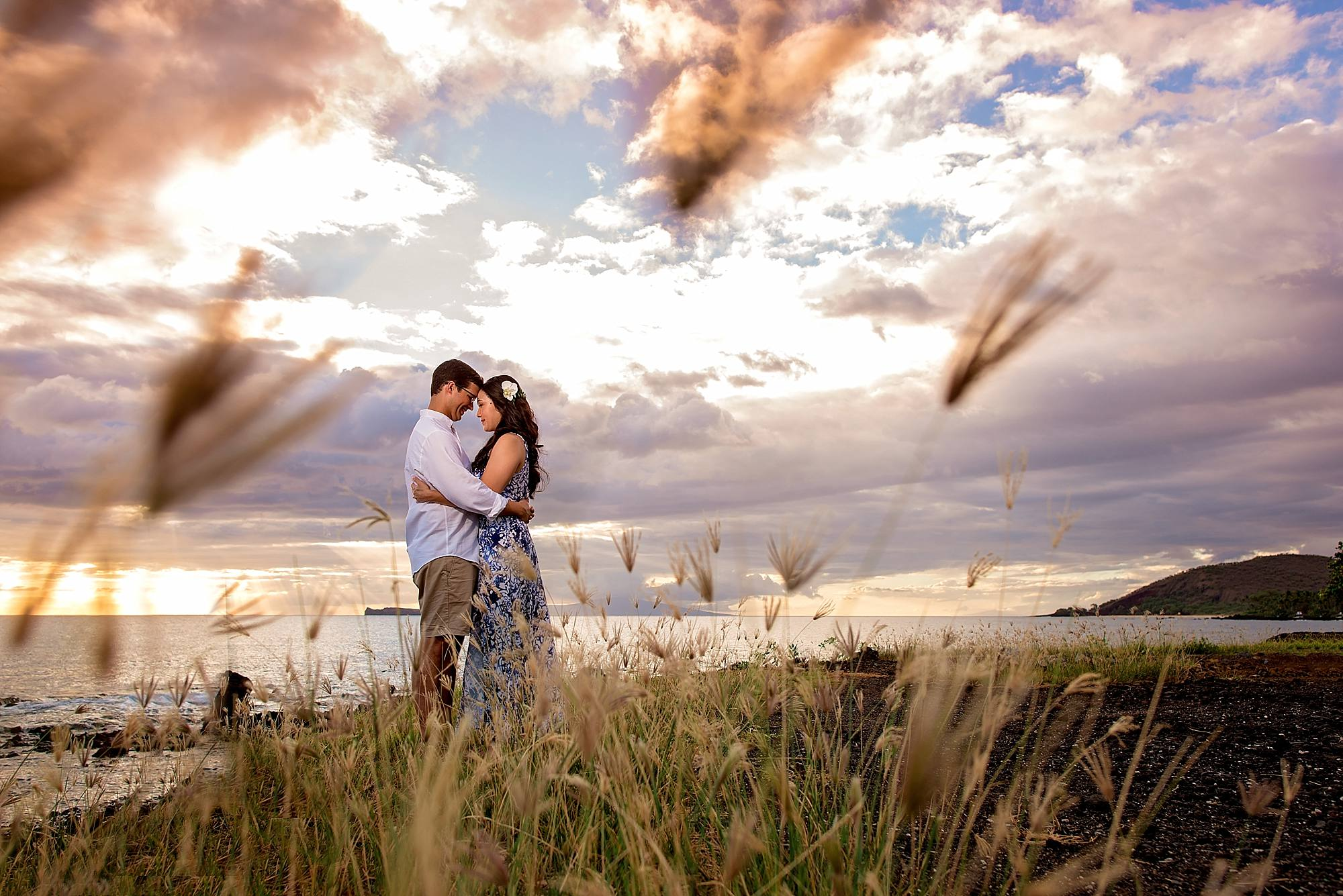 magmod photo of couple in field