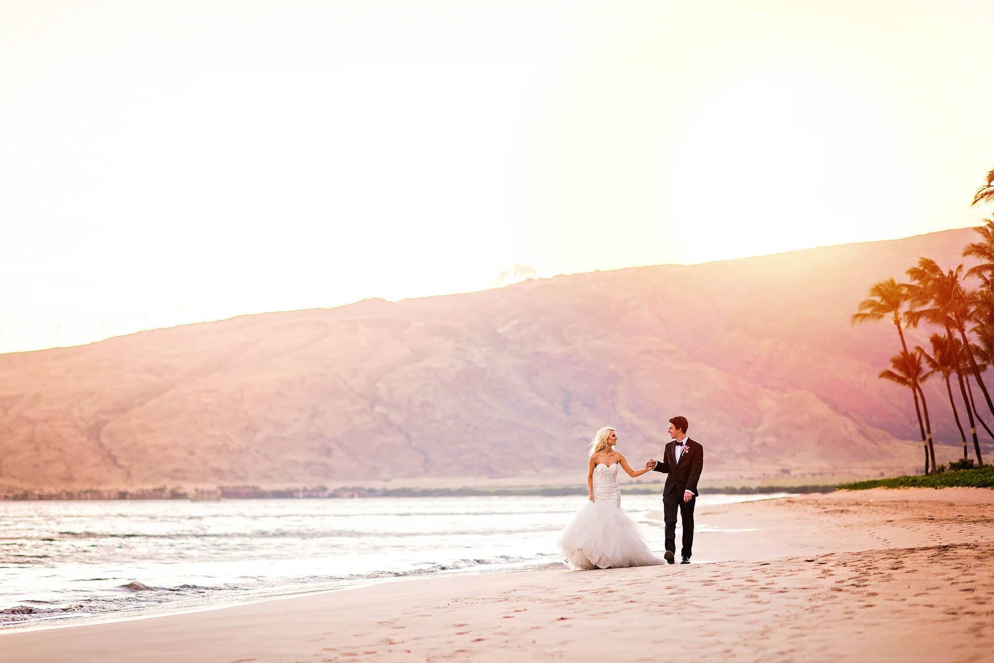 Maui wedding at Sugar Beach Events