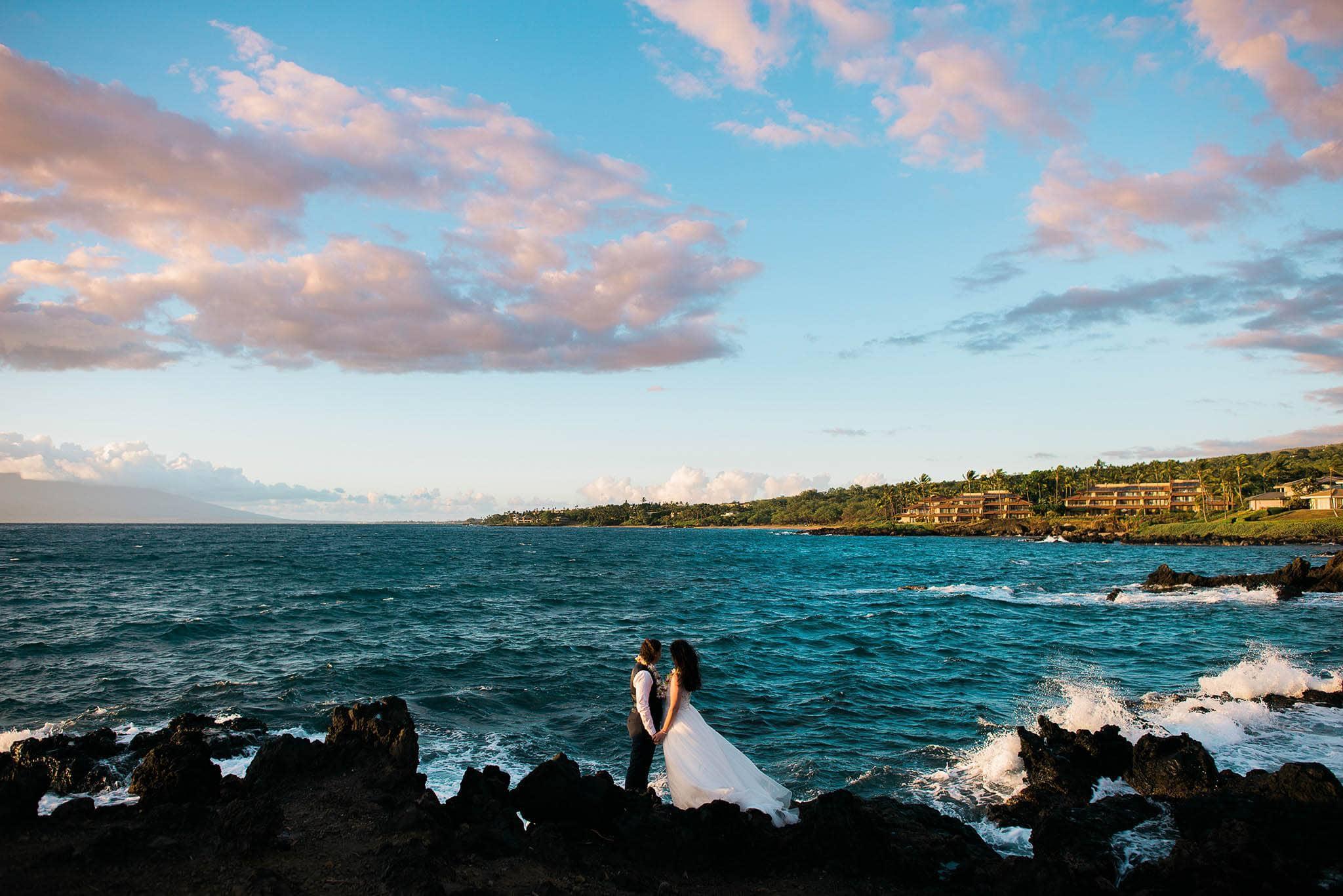 gay wedding on maui