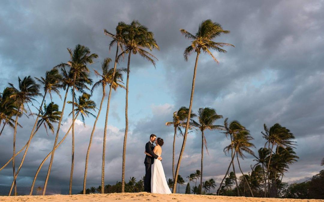 North Shore Maui Elopement | Ariel + Stephane