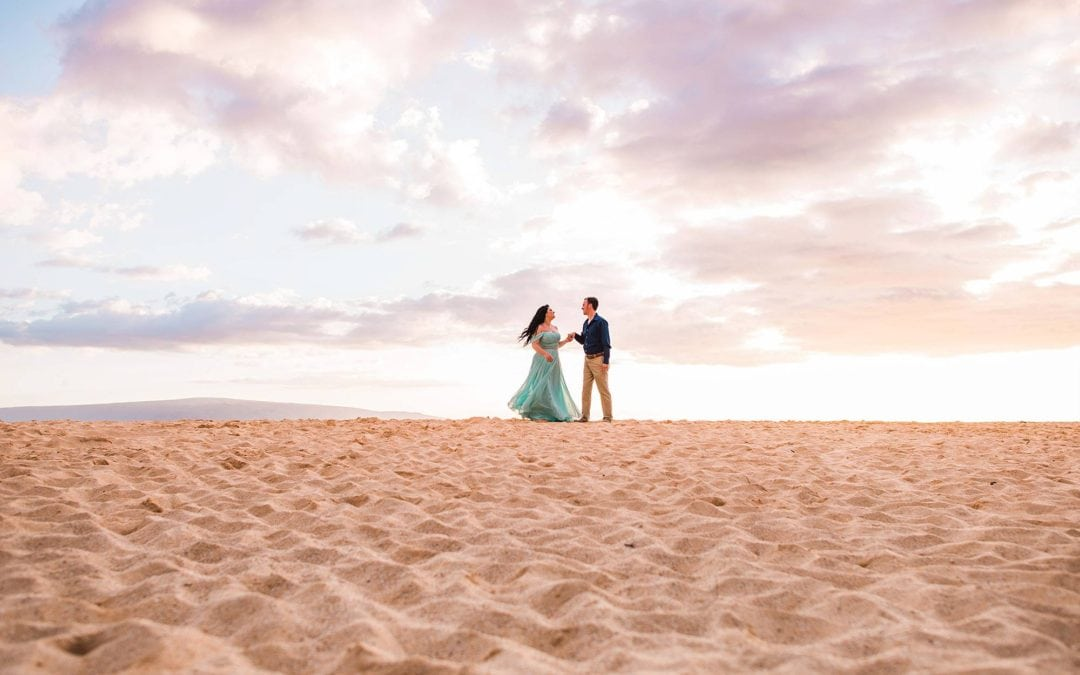 Ten Year Wedding Anniversary Photos on Maui | Azelin + Jeremy