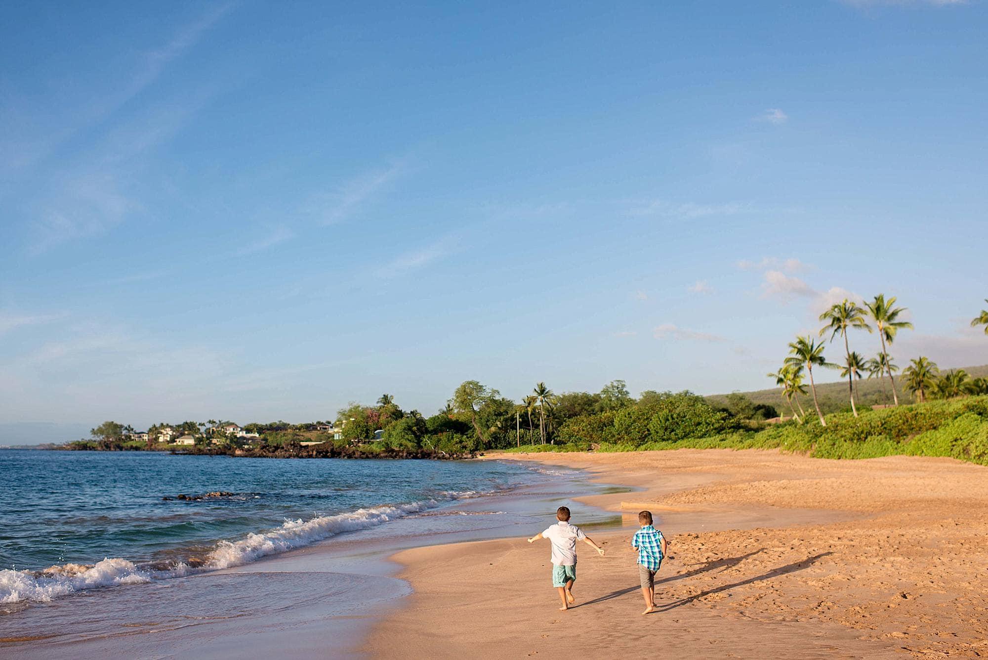 maluaka beach in makena