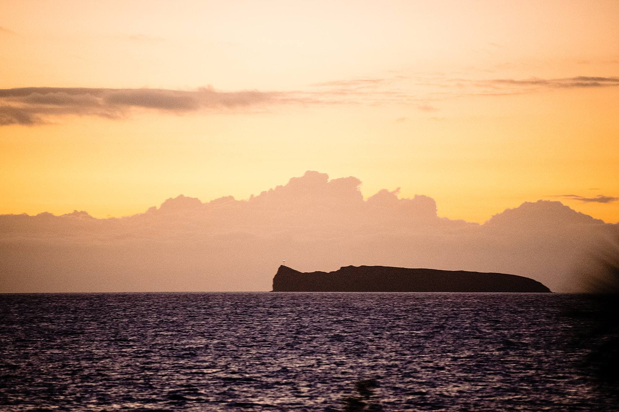 molokini sunset views from ponomakena sanctuary