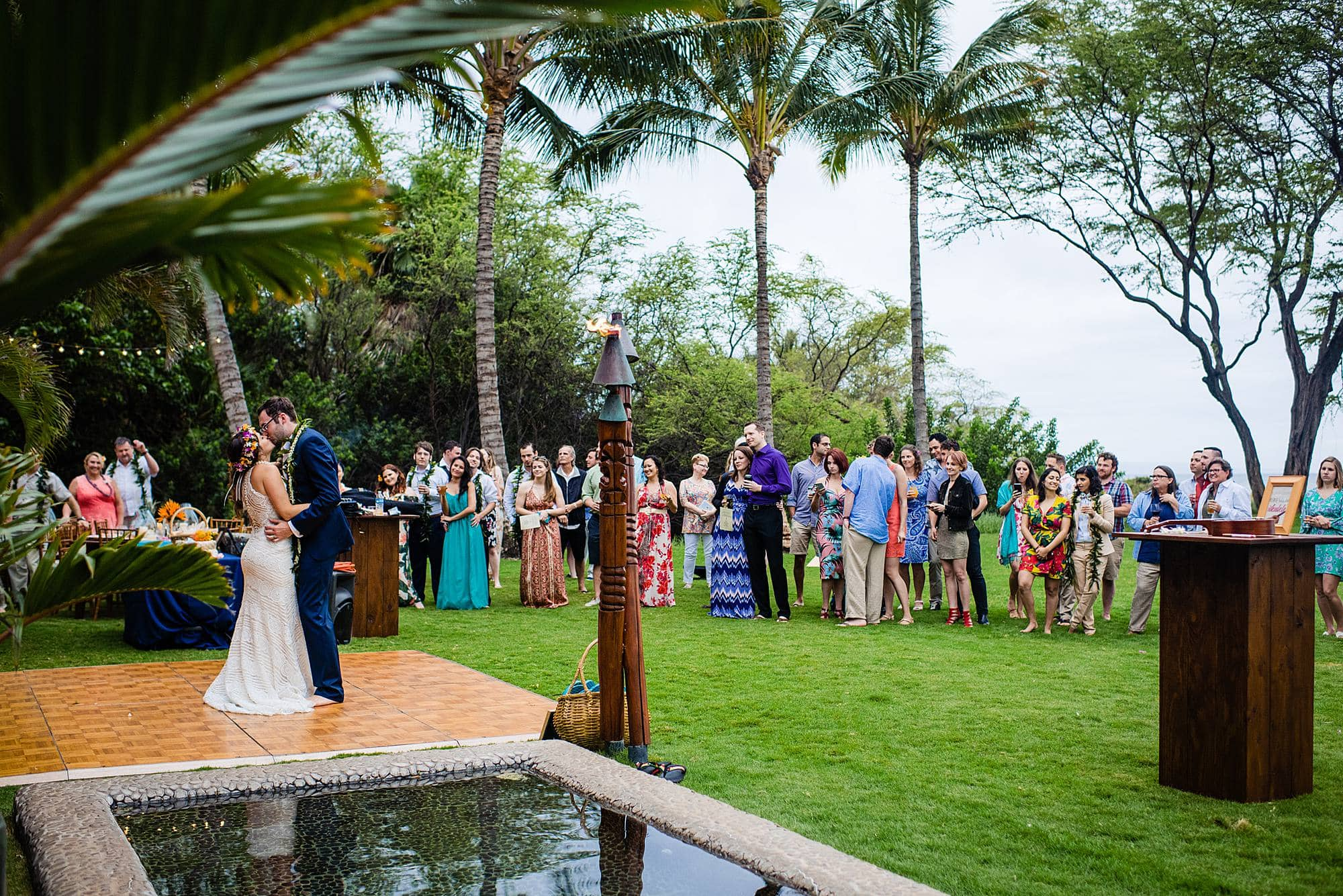 first dance at aloha aku in kihei