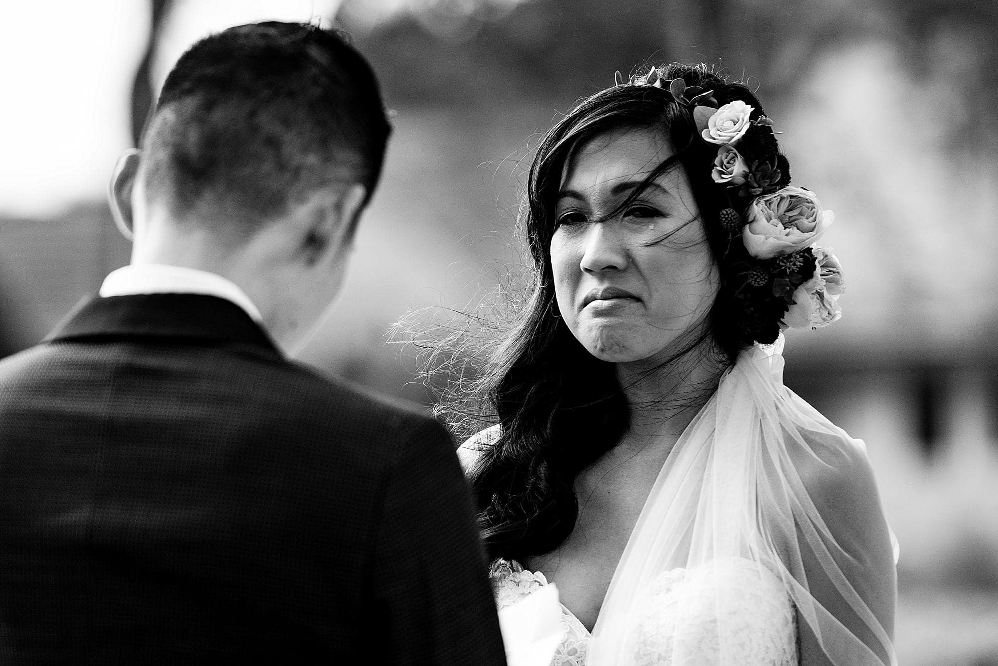emotional vows during maui wedding ceremony