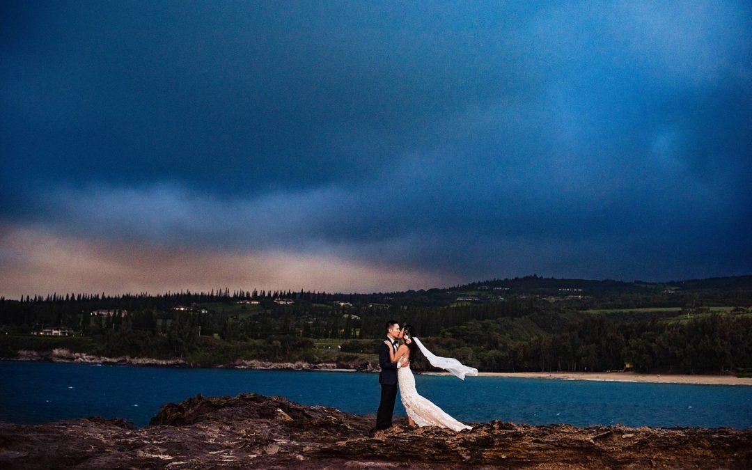 Gorgeous Steeple House Wedding in Kapalua