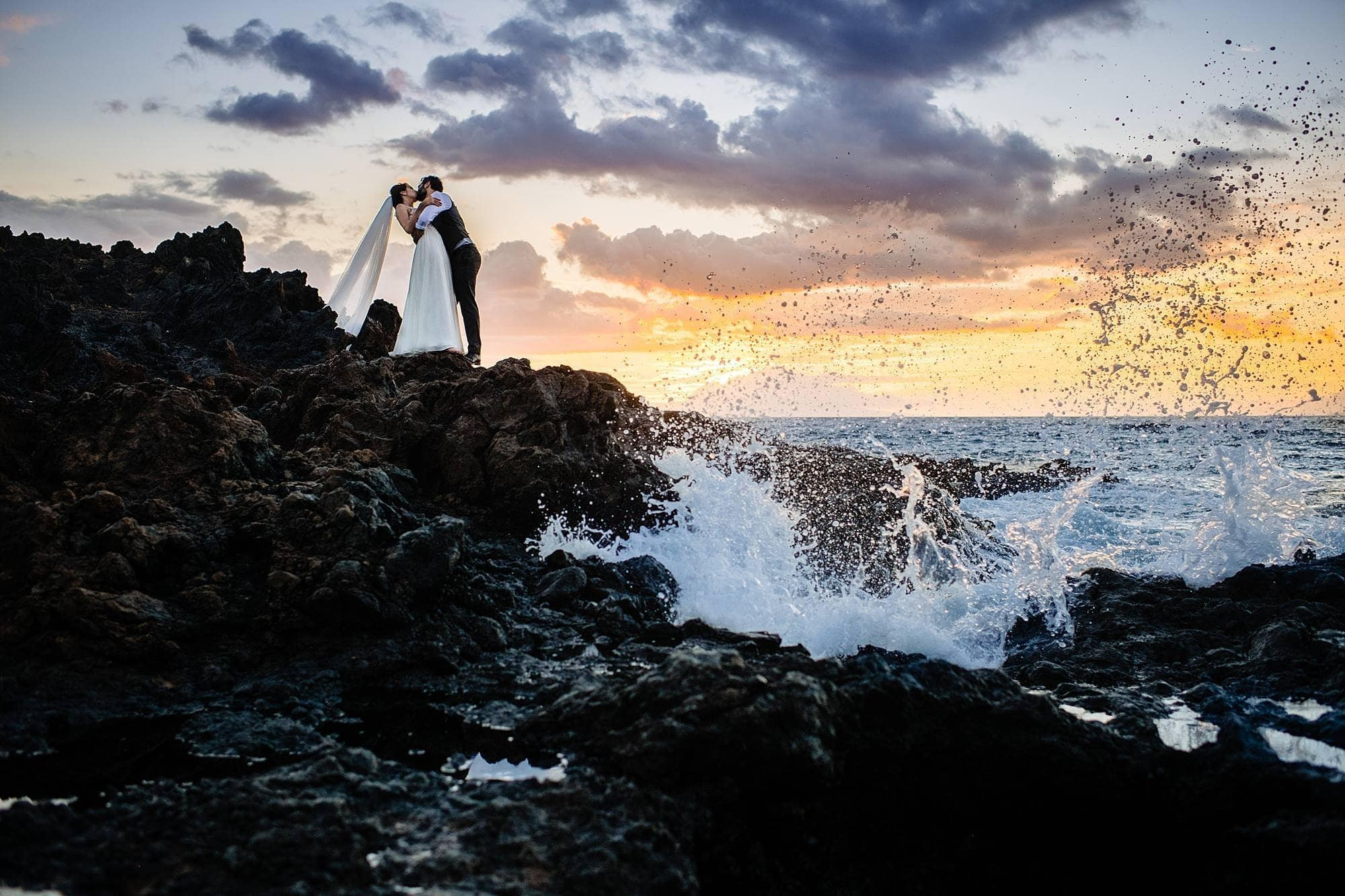 waves crashing at kukahiko estate