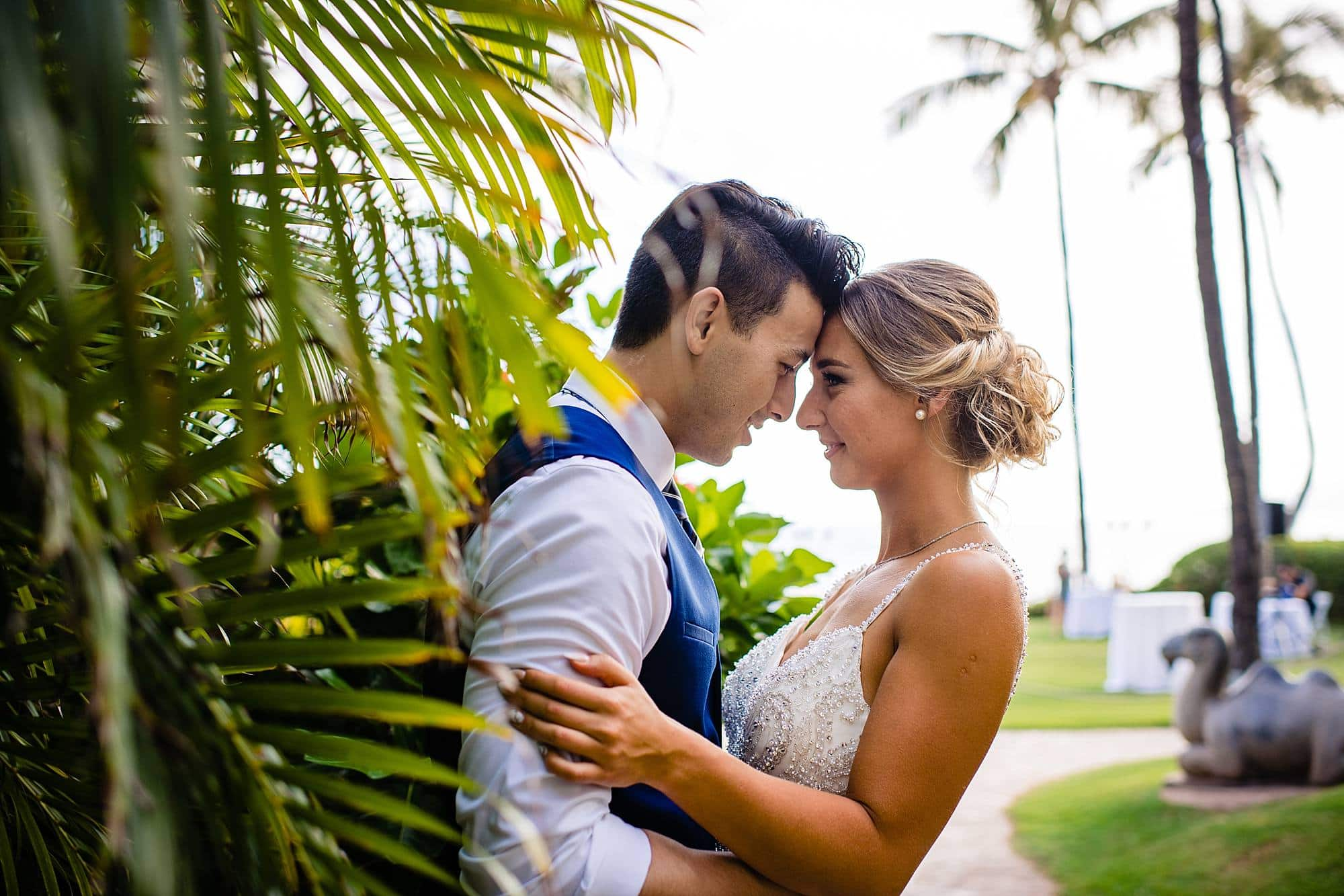 intimate hyatt maui wedding