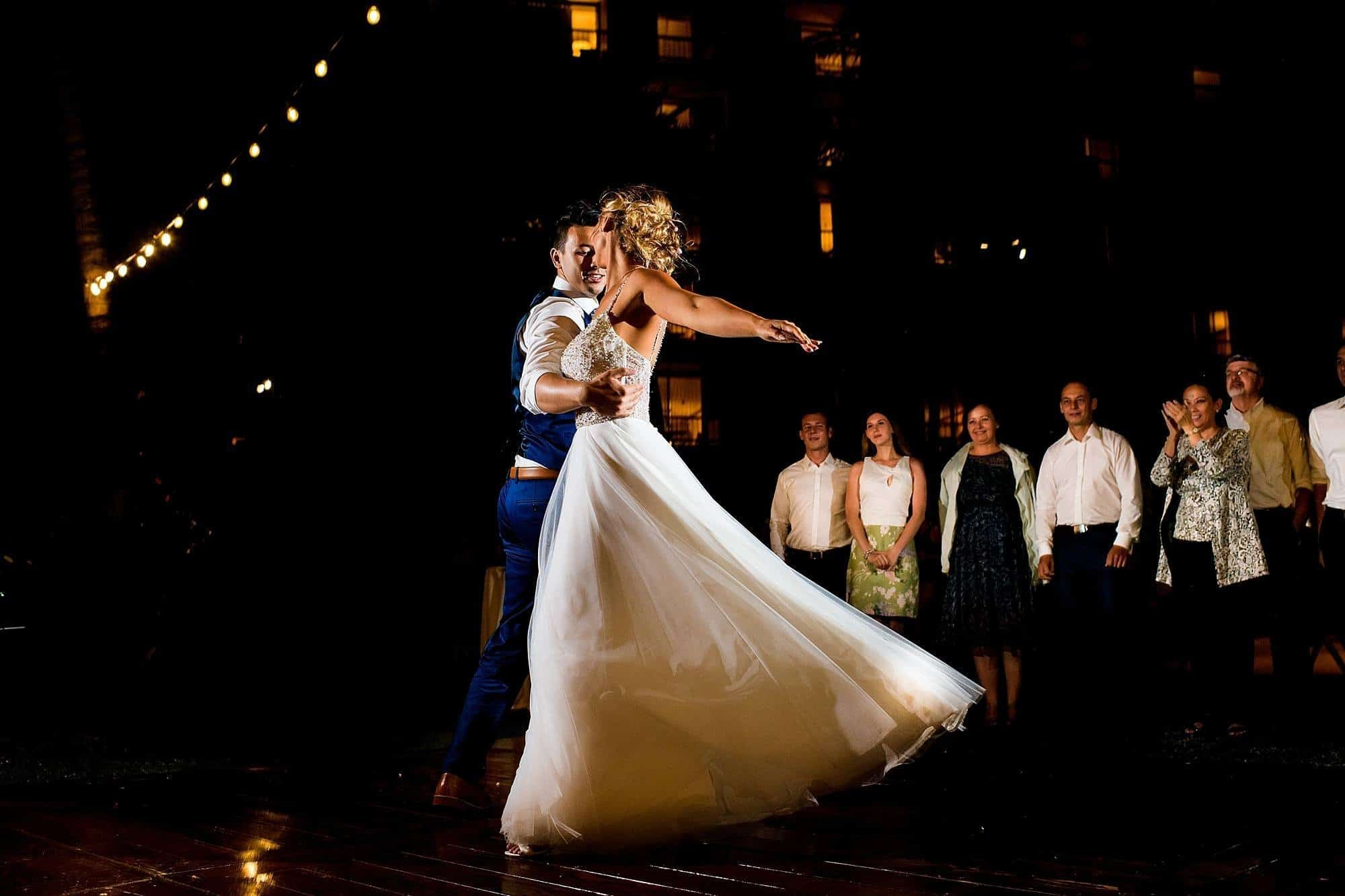 first dance at hyatt maui